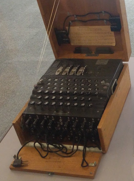 Enigma machine featured